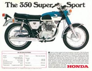 1968 Honda CB 350 (Small)